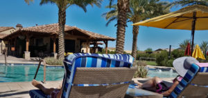 Encanterra Monthly Vacation Rental Arizona Experience pool FlowRider Surfing in Arizona Forever Sabbatical Couple Travel