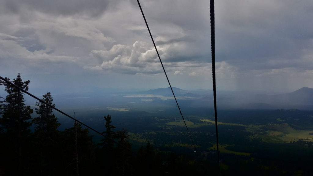 Lightning Storm While on a Metal Ski Lift storm 2