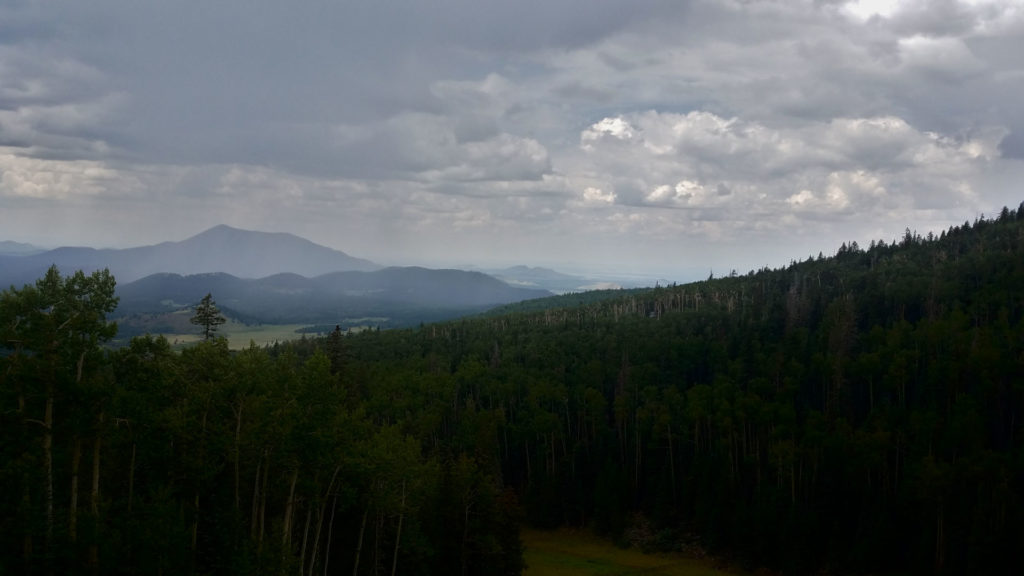 Lightning Storm While on a Metal Ski Lift view