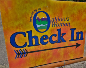 Becoming an Outdoors Woman (BOW) in Arizona September Camp Day 1 Check in