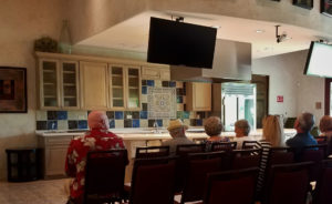 Appetizer Cooking Demonstration Event in San Tan Valley Room set up