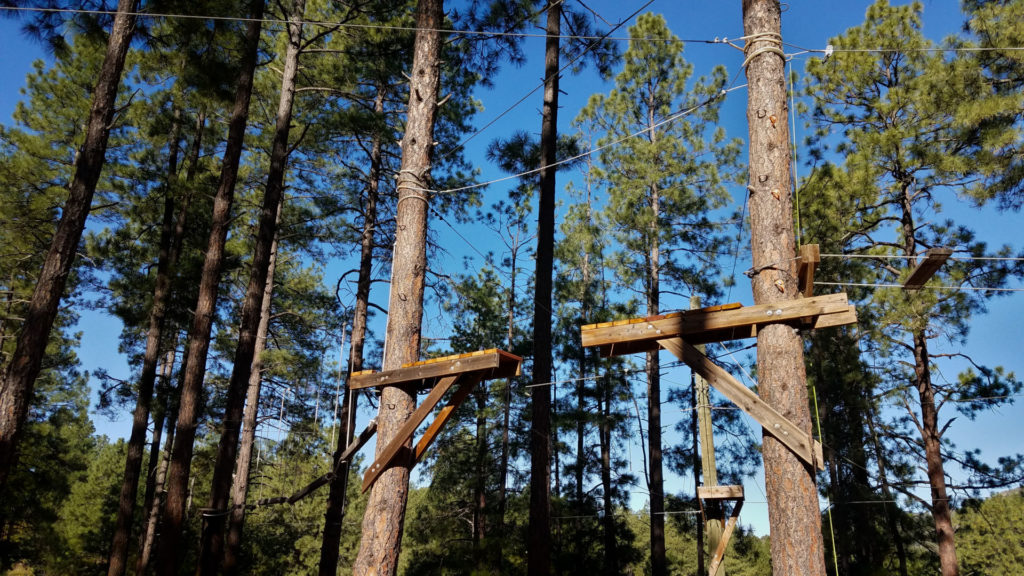 Becoming an Outdoors Woman (BOW) in Arizona September Camp Day 3 Ropes Challenge