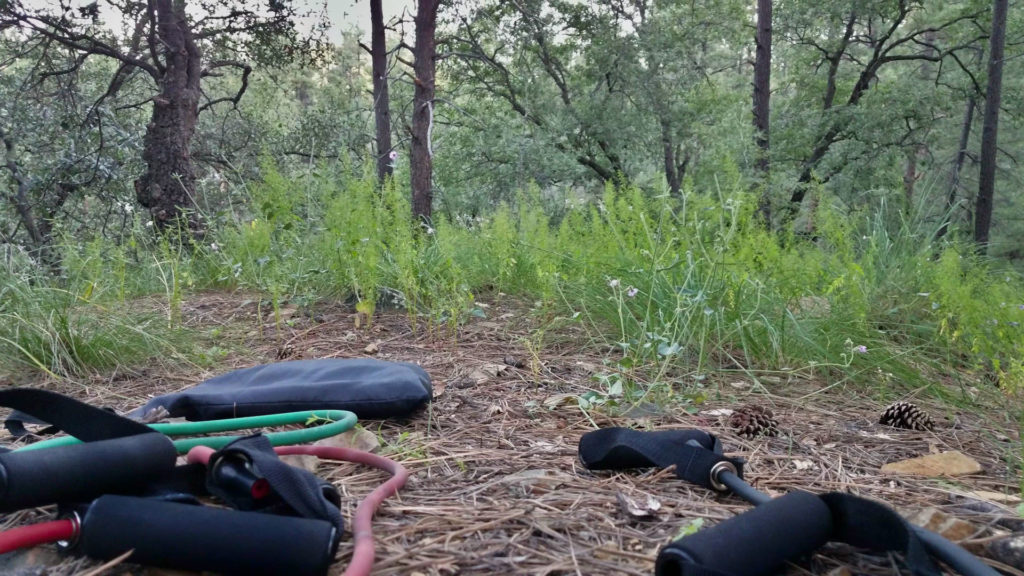 Becoming an Outdoors Woman (BOW) in Arizona September Camp Day 2 workout