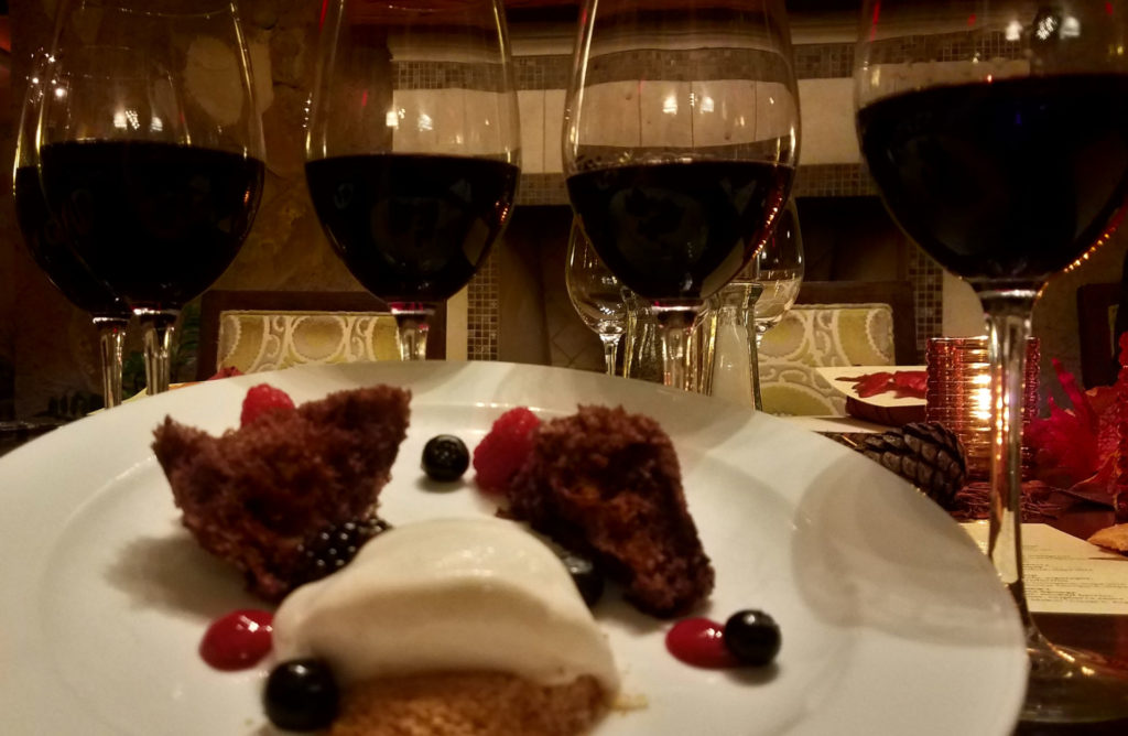 Wagner Family Wine Dinner Dessert