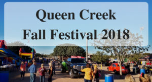 Queen Creek's Fall Festival 2018