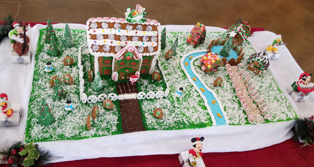 Gingerbread House Build-Off Event houses (1)