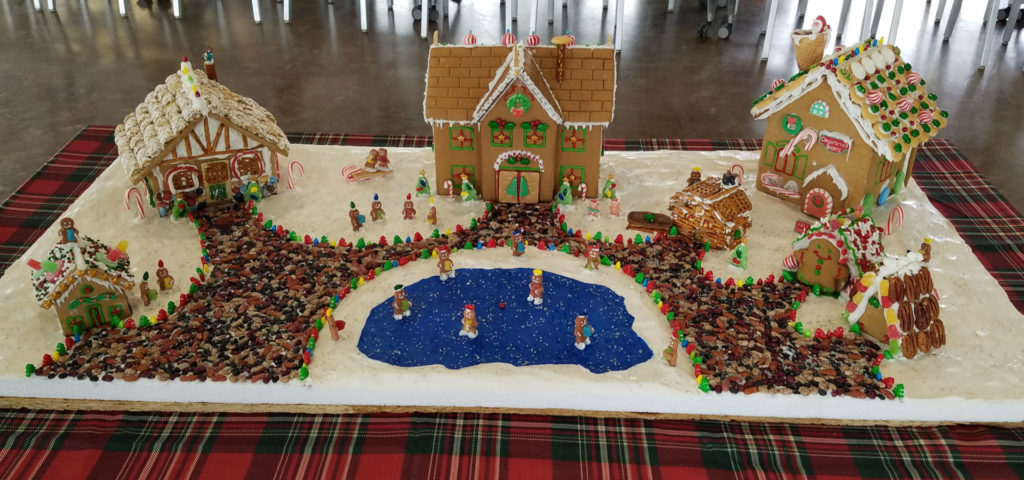 Gingerbread House Build-Off Event houses (2)