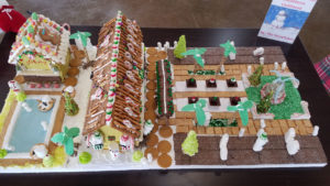 Gingerbread House Build-Off Event houses (3)