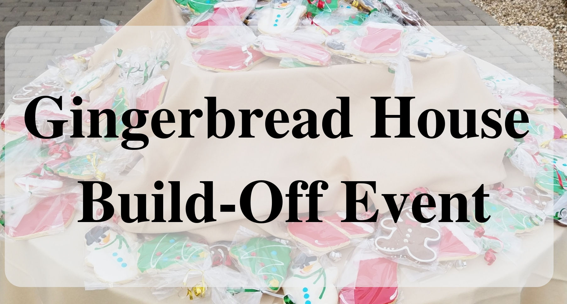 Gingerbread House Build-Off Eventmain