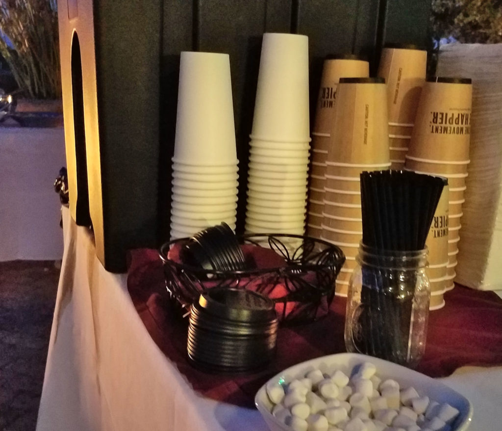 Holiday Festivities Hot coco station
