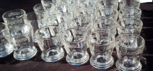 Winter Wine and Spirits Festival shot glasses