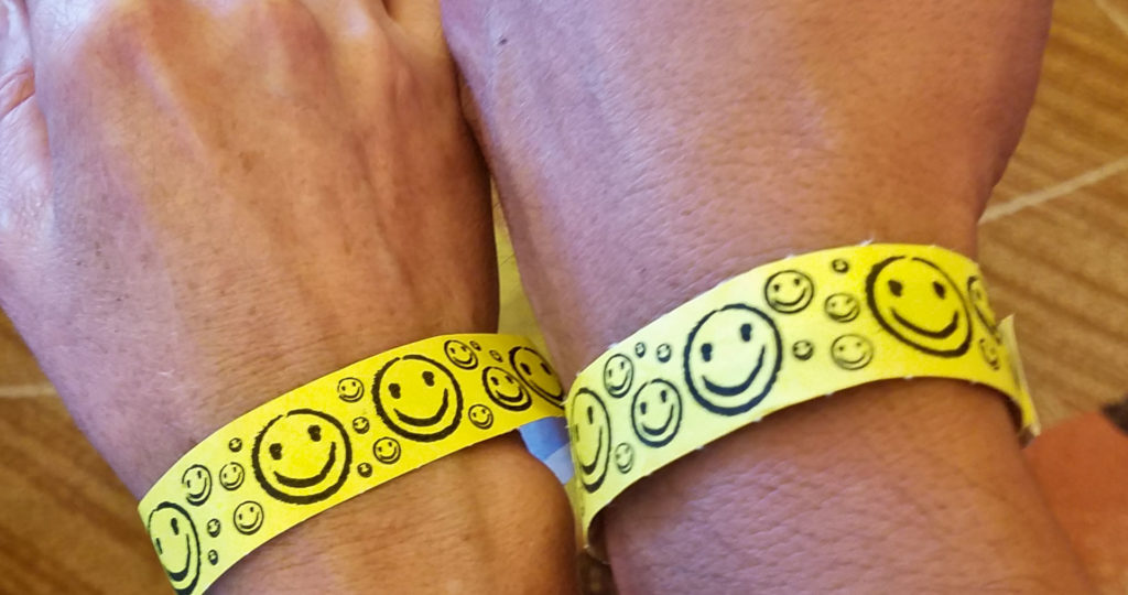 Winter Wine and Spirits Festival wrist bands