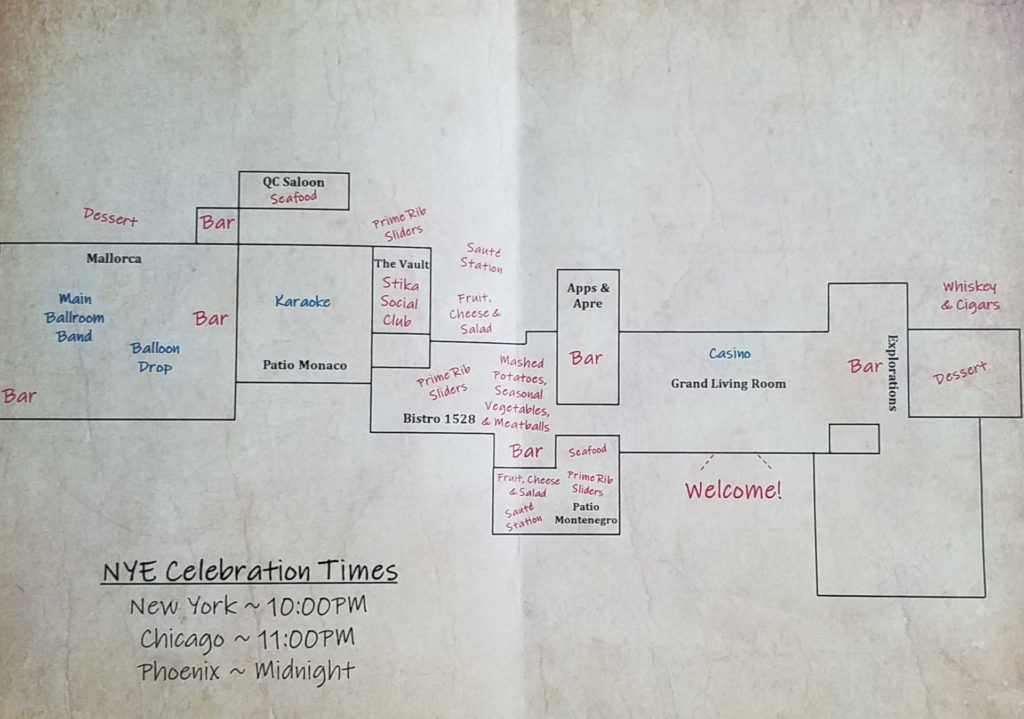 New Year Eve - The Speakeasy map