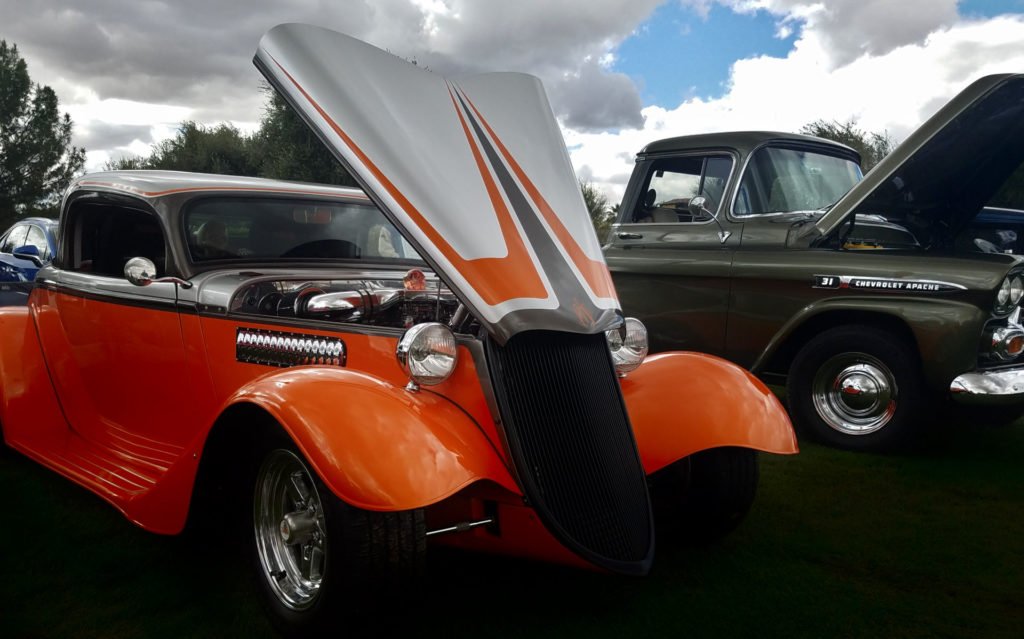 1st Annual Sweet Rides Encanterra Car Show orange