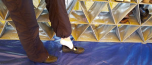Arcopedico Shoes for Traveling art show