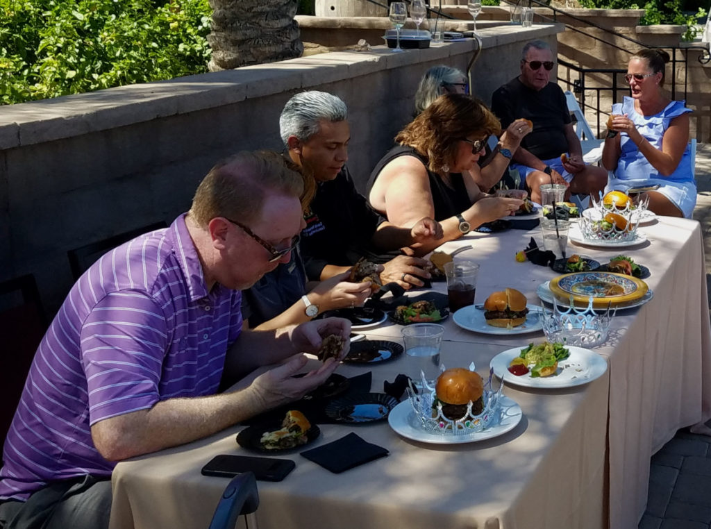 Build a Better Burger Competition - San Tan Valley, AZ Judgin