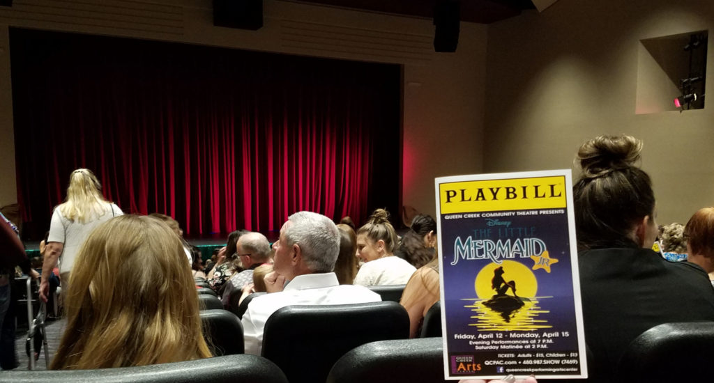 Theater and playbill