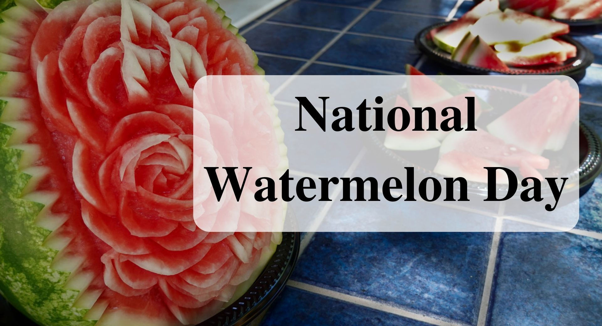 National Watermelon Day Forever Sabbatical