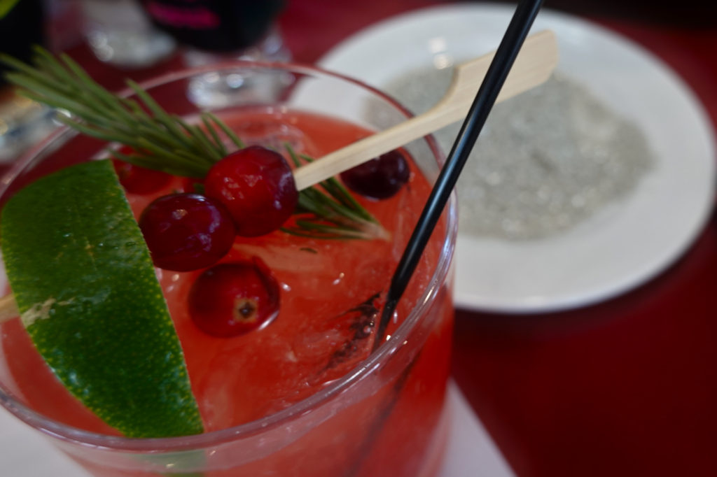 Cranberry mule Interactive Holiday Mixology, forever sabbatical