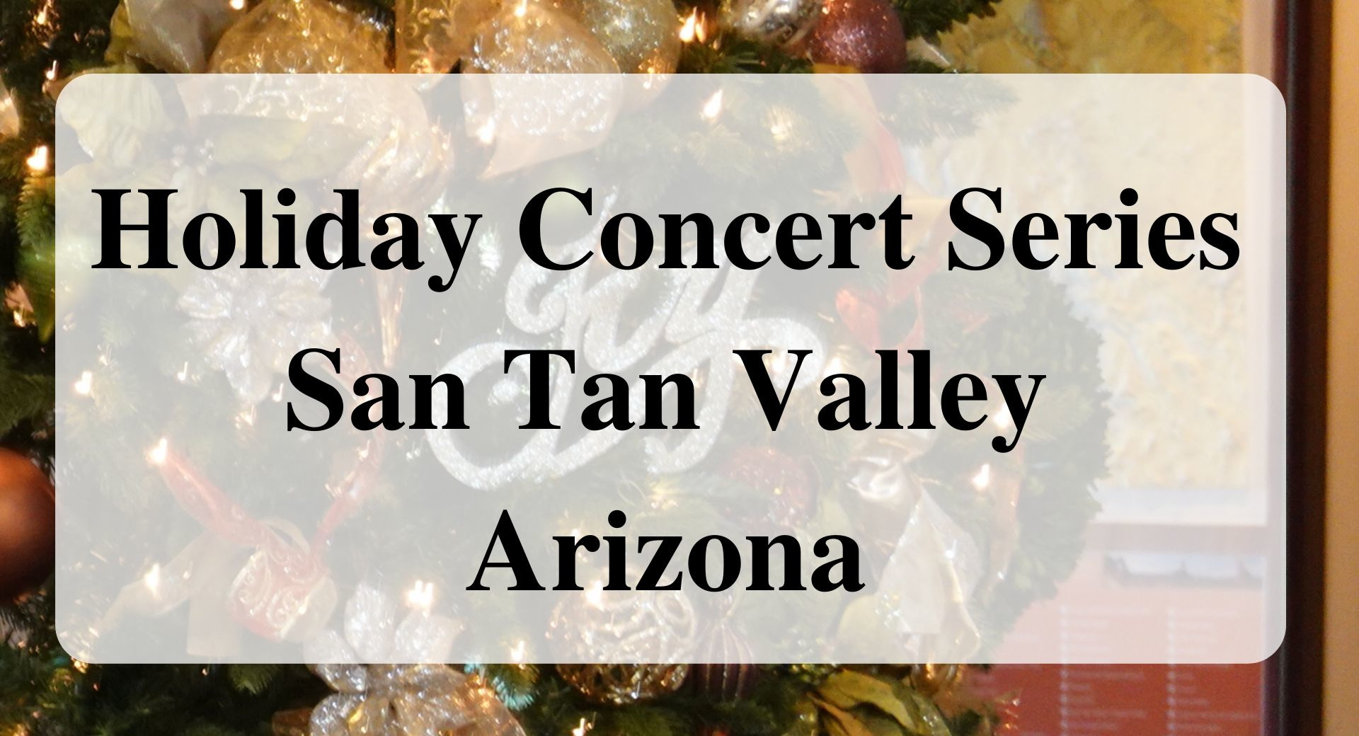 violin Holiday Concert Series, Forever Sabbatical