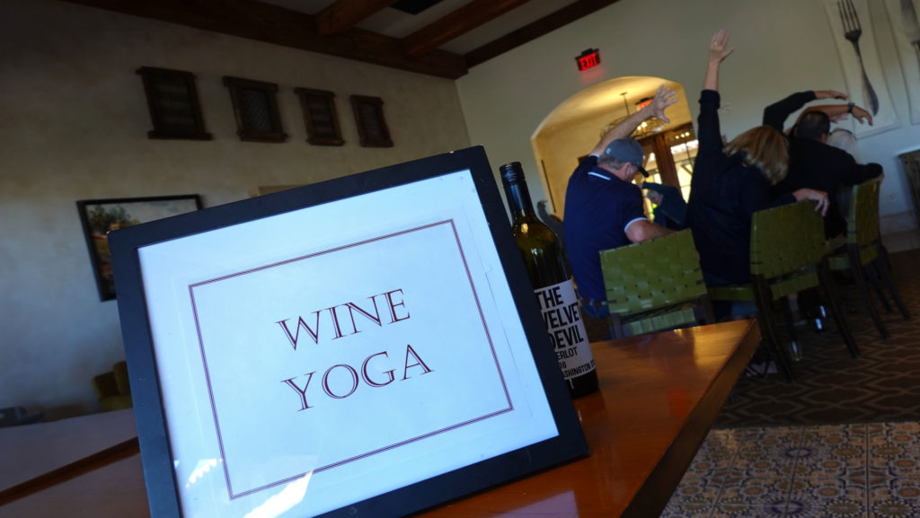 Wine-yoga Final Happiness, forever sabbatical