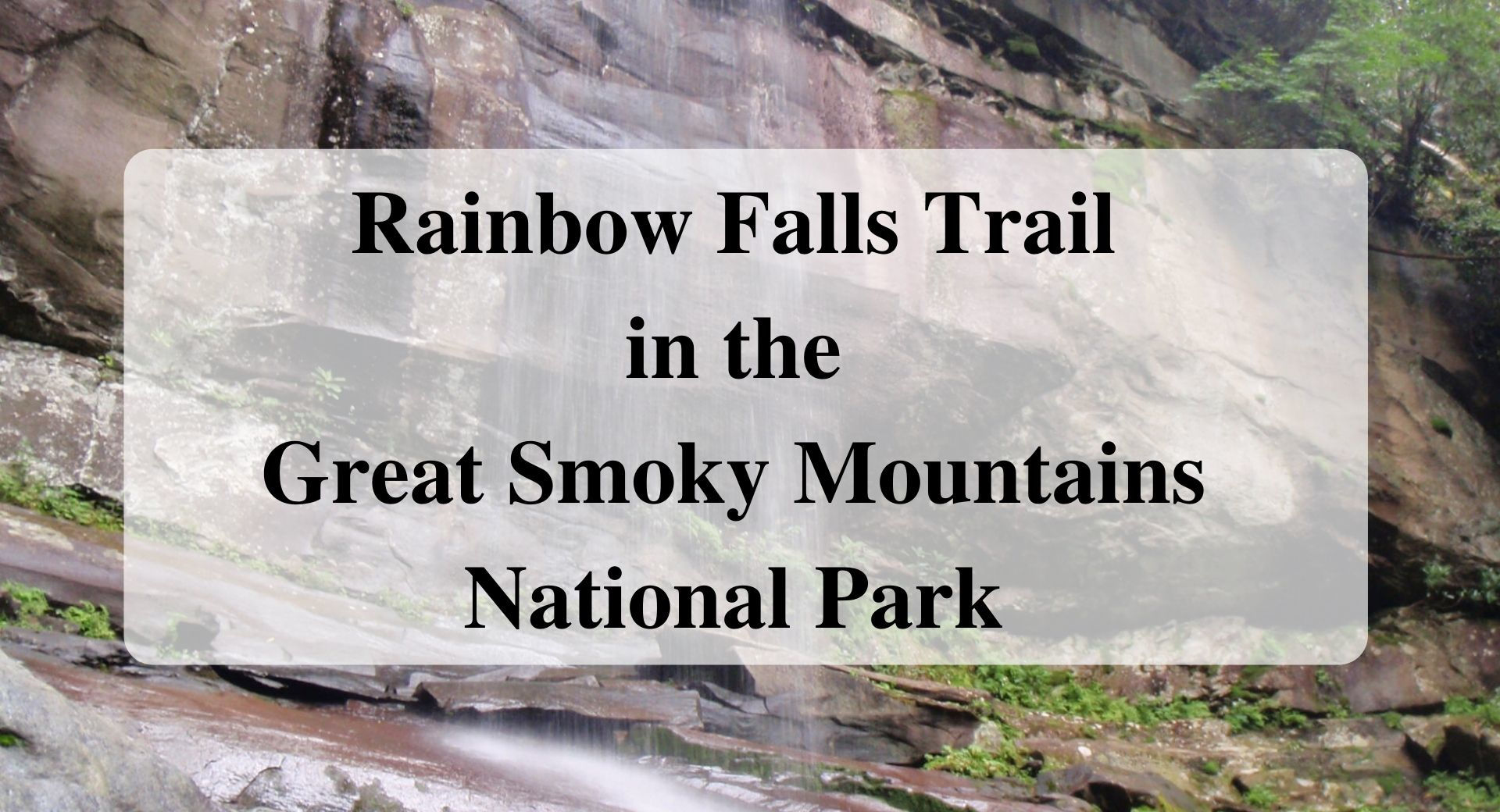 Rainbow Falls Trail in the Great Smoky Mountains National Park_ Forever_sabbatical