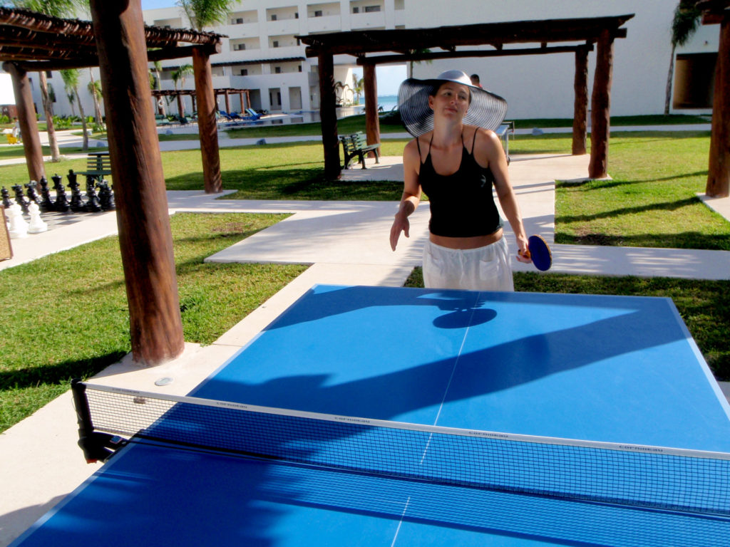 pingpong_Riviera Cancun Mexico Resort, Forever Sabbatical