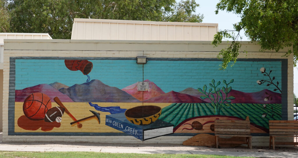 Community center mural 2 outdoor art forever sabbatical
