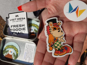 Stickers Foodie Trail, Forever Sabbatical