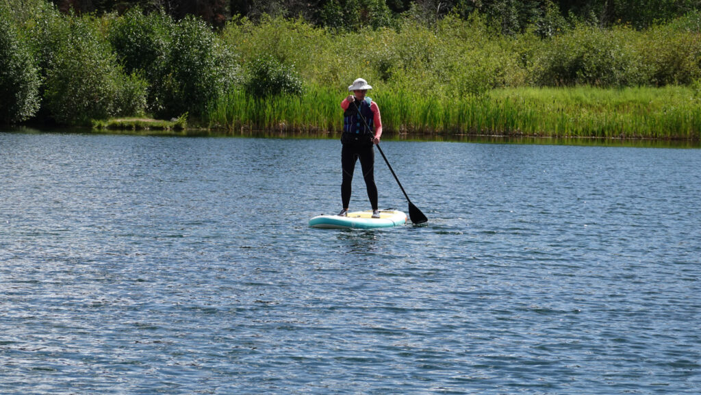standing stand up paddle boarding, forever sabbatical