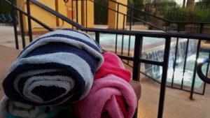 Arizona Summer Dive-in Movie towels