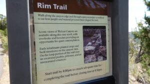Rim Walnut Canyon, Forever Sabbatical